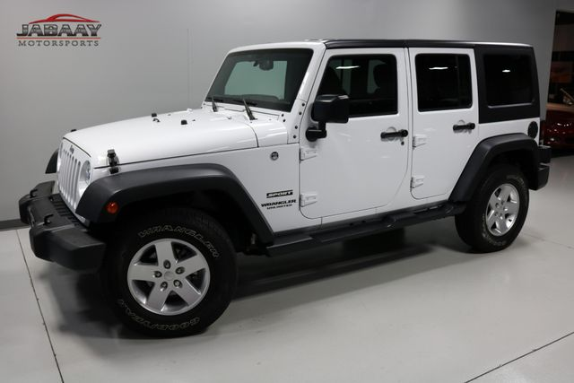2016 Jeep Wrangler Unlimited Sport Merrillville, Indiana 26