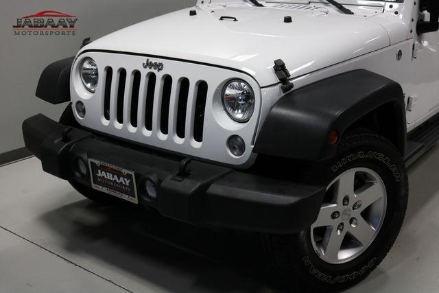 2016 Jeep Wrangler Unlimited Sport Merrillville, Indiana 27