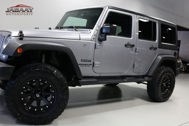 2016 Jeep Wrangler Unlimited Sport Merrillville, Indiana 28