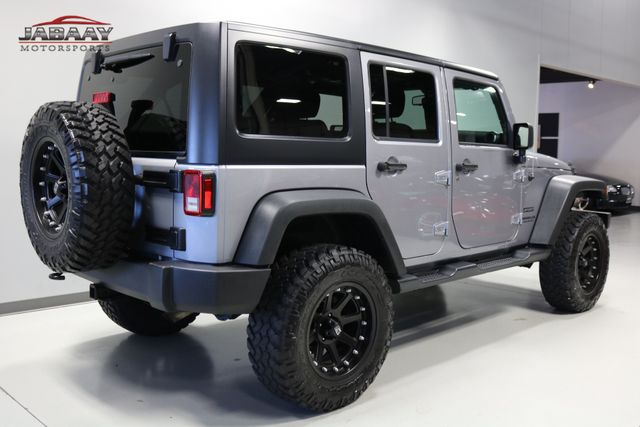 2016 Jeep Wrangler Unlimited Sport Merrillville, Indiana 4