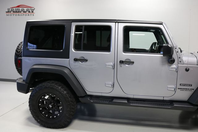 2016 Jeep Wrangler Unlimited Sport Merrillville, Indiana 35