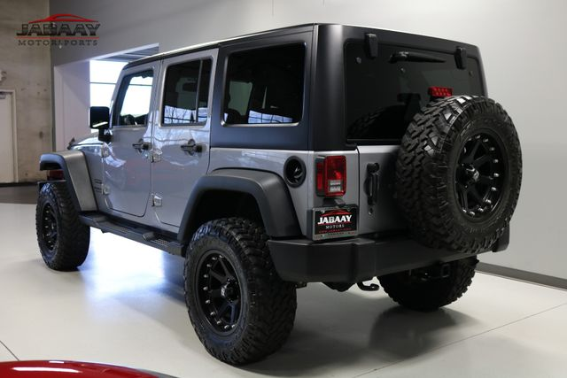 2016 Jeep Wrangler Unlimited Sport Merrillville, Indiana 2