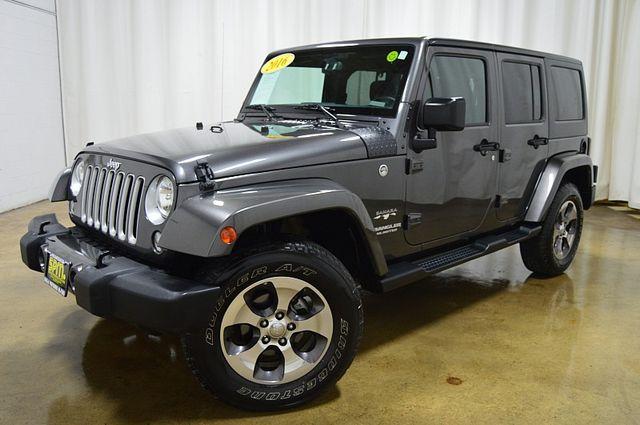 2016 Jeep Wrangler Unlimited Sahara Manual