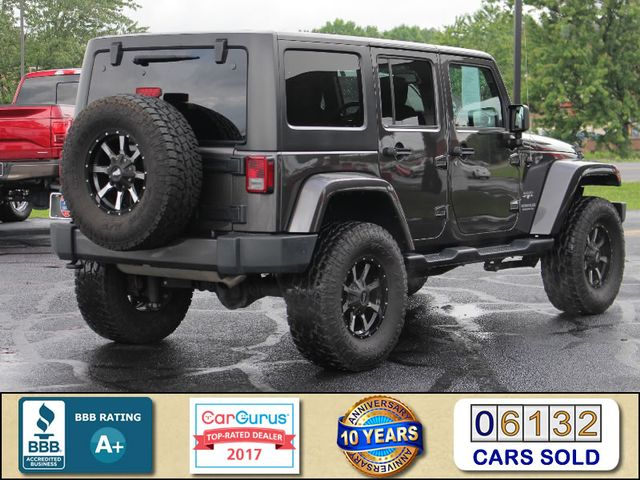 2016 Jeep Wrangler Unlimited Sahara 4x4 - LIFTED - EXTRA$ - BLUETOOTH! Mooresville , NC 2