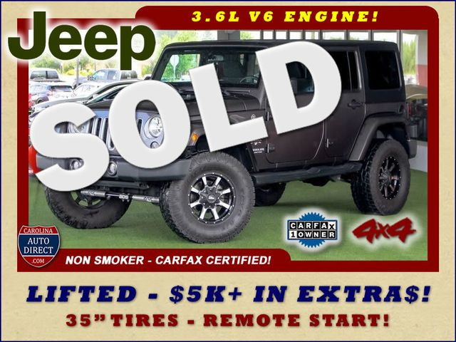2016 Jeep Wrangler Unlimited Sahara 4x4 - LIFTED - EXTRA$ - BLUETOOTH! Mooresville , NC 0