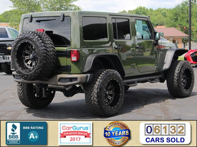 2016 Jeep Wrangler Unlimited 75th Anniversary Edition - 1941 - LIFTED - EXTRA$! Mooresville , NC 2