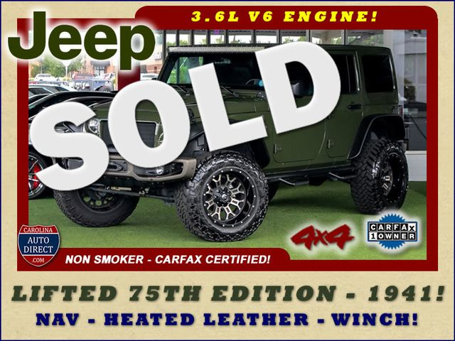 2016 Jeep Wrangler Unlimited 75th Anniversary Edition - 1941 - LIFTED - EXTRA$! Mooresville , NC