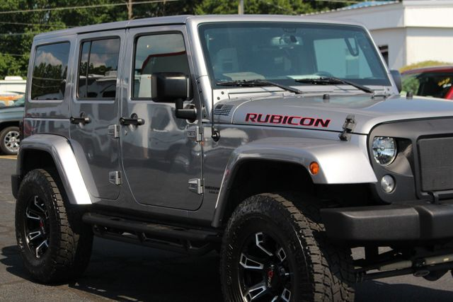 2016 Jeep Wrangler Unlimited Rubicon 4x4 - LIFTED - EXTRA$ - NAV - HEATED SEATS Mooresville , NC 25