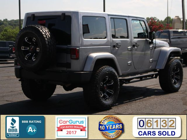 2016 Jeep Wrangler Unlimited Rubicon 4x4 - LIFTED - EXTRA$ - NAV - HEATED SEATS Mooresville , NC 2