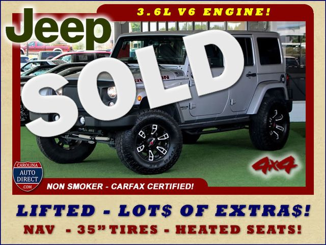 2016 Jeep Wrangler Unlimited Rubicon 4x4 - LIFTED - EXTRA$ - NAV - HEATED SEATS Mooresville , NC 0