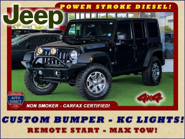 2016 Jeep Wrangler Unlimited Rubicon 4X4 - CUSTOM BUMPER/KC OFF ROAD LIGHTS! Mooresville , NC 0