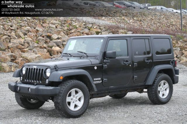 2016 Jeep Wrangler Unlimited Sport Naugatuck, Connecticut