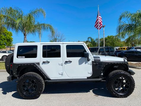 2016 Jeep Wrangler Unlimited BLACK BEAR CUSTOM LIFTED DUAL TOP ARMOR OCD in Plant City, Florida