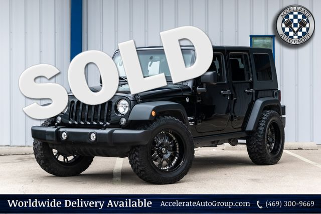 2016 Jeep Wrangler Unlimited Sport in Rowlett