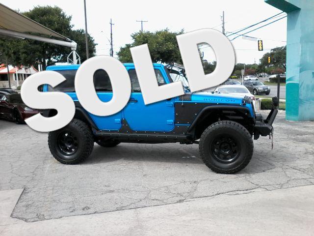 2016 Jeep Wrangler Unlimited Rubicon Boerne, Texas 0