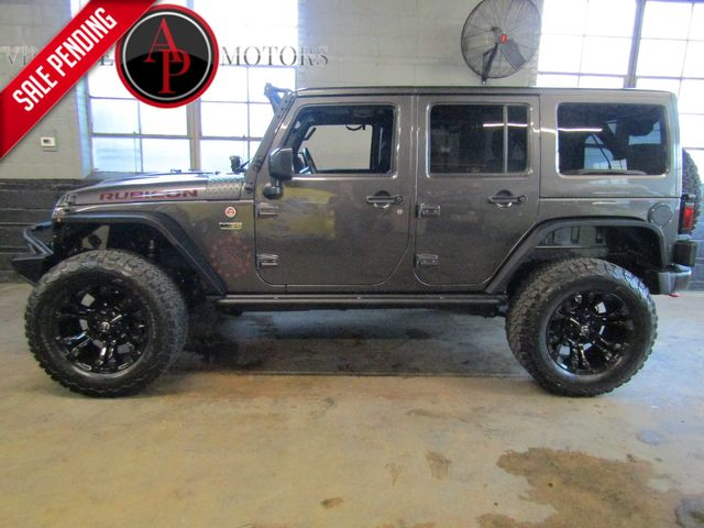 2016 Jeep Wrangler Unlimited RUBICON HARD ROCK WITH OVER 12K IN ADD-ONS
