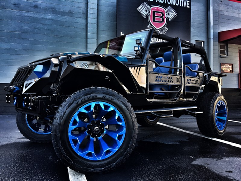 2016 Jeep Wrangler Unlimited CUSTOM LIFTED LEATHER 24S HARDTOP in , Florida
