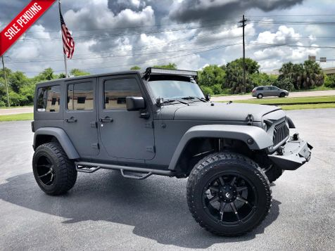 2016 Jeep Wrangler Unlimited RHINO CUSTOM LIFTED LEATHER LINE X  in , Florida