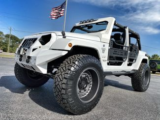 2016 Jeep Wrangler Unlimited CUSTOM FAB FOURS SAHARA LIFTED HARDTOP   Florida  Bayshore Automotive   in , Florida