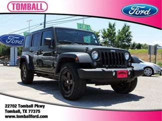 2016 Jeep Wrangler Unlimited Sport in Tomball, TX 77375