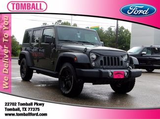 2016 Jeep Wrangler Unlimited Black Bear in Tomball, TX 77375