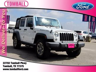 2016 Jeep Wrangler Unlimited Rubicon in Tomball, TX 77375