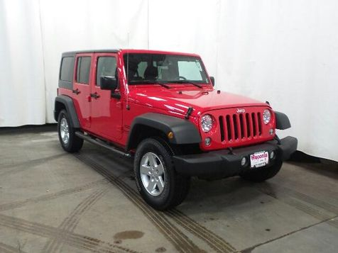 2016 Jeep Wrangler Unlimited Sport in Victoria, MN