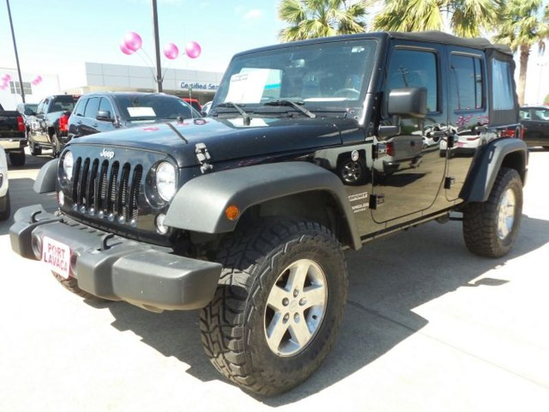 2016 Jeep Wrangler Unlimited Sport   Texas  Victoria Certified  in , Texas