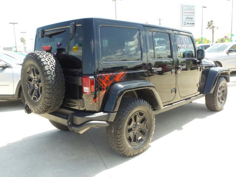 2016 Jeep Wrangler Unlimited Backcountry   Texas  Victoria Certified  in , Texas