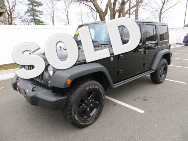2016 Jeep Wrangler Unlimited Black Bear Watertown, Massachusetts