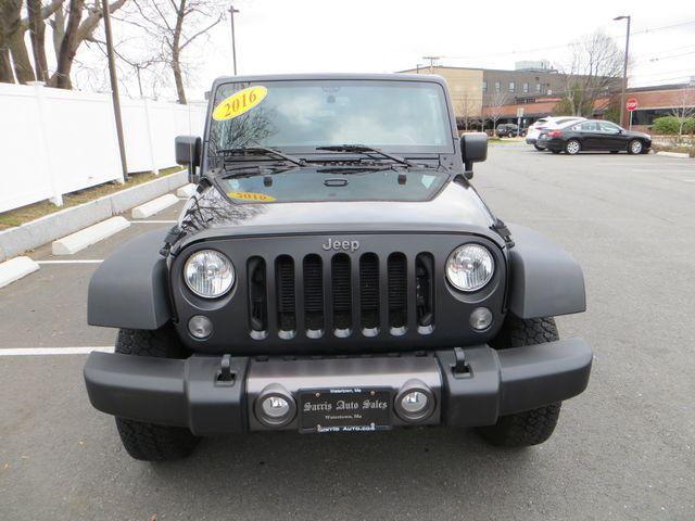 2016 Jeep Wrangler Unlimited Black Bear Watertown, Massachusetts 1