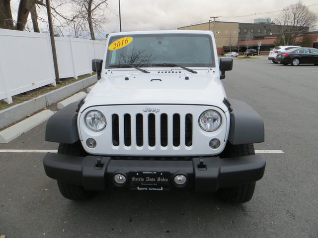 2016 Jeep Wrangler Unlimited Sport Watertown, Massachusetts 1