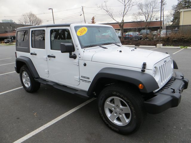 2016 Jeep Wrangler Unlimited Sport Watertown, Massachusetts 2