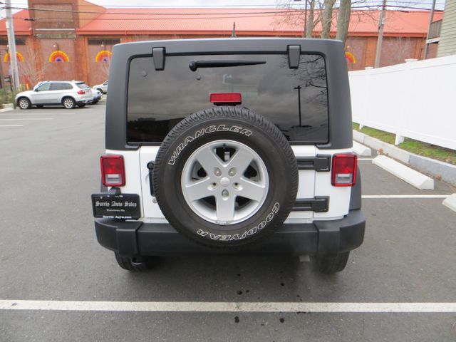 2016 Jeep Wrangler Unlimited Sport Watertown, Massachusetts 4