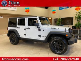 2016 Jeep Wrangler Unlimited Willys Wheeler in Worth, IL 60482