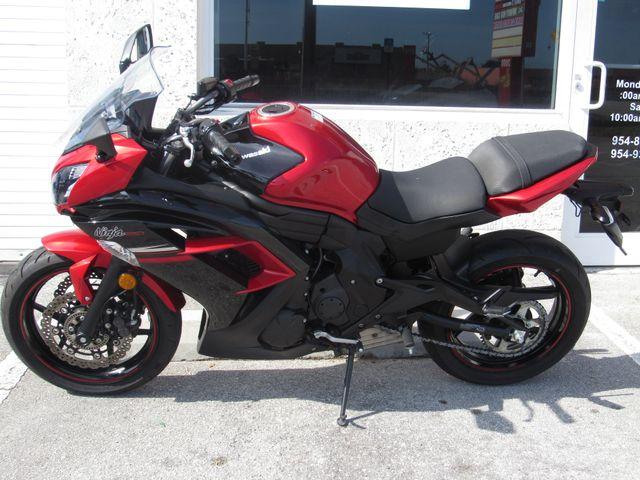2016 Kawasaki Ninja 650 ABS in Dania Beach Florida, 33004