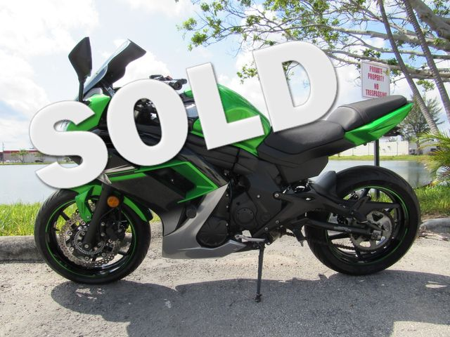 2016 Kawasaki Ninja® 650 ABS in Dania Beach , Florida 33004