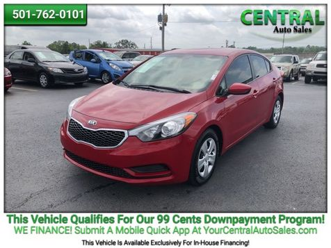 2016 Kia Forte LX | Hot Springs, AR | Central Auto Sales in Hot Springs, AR