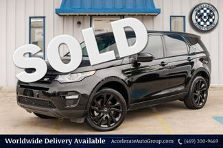 2016 Land Rover Discovery SPORT HSE LUX 4X4 LOADED NAV BLK ON BLK HID NICE! in Rowlett