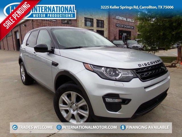2016 Land Rover Discovery Sport HSE LUX 1-Owner