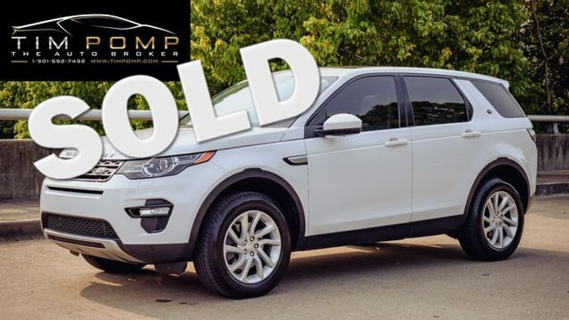 2016 Land Rover Discovery Sport HSE   Memphis, Tennessee   Tim Pomp - The Auto Broker in Memphis Tennessee