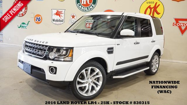 2016 Land Rover LR4 SUNROOF,BACK-UP CAM,HTD LTH,3RD ROW,20'S,25K
