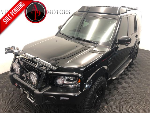2016 Land Rover LR4 HSE BUILT LIFTED ARB WINCH BUMPER
