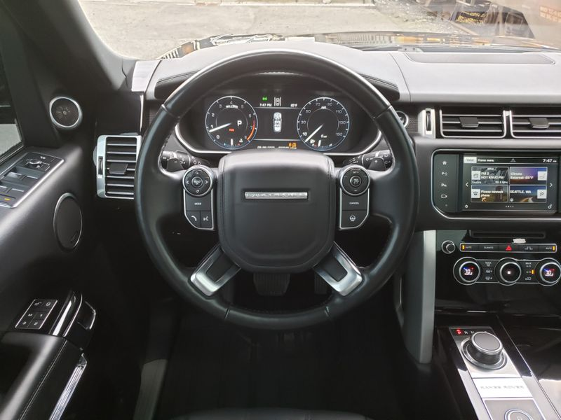 2016 Land Rover Range Rover 30L Supercharged HSE Driver  Vision Assistance Packages 1 Owner   city Washington  Complete Automotive  in Seattle, Washington