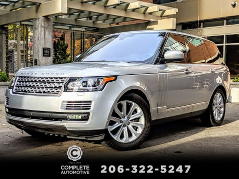 2016 Land Rover Range Rover 3.0L V6 Supercharged HSE 1 Owner Factory Warranty to 1/21/2021 West Coast History in Seattle