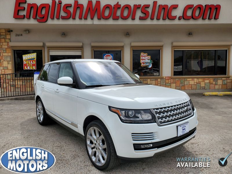 2016 Land Rover Range Rover Supercharged  Brownsville TX  English Motors  in Brownsville, TX