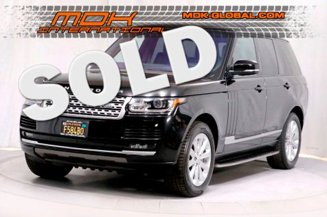 2016 Land Rover Range Rover HSE - 1 Owner - Service Records in Los Angeles