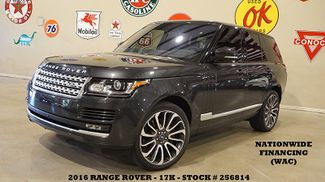 2016 Land Rover Range Rover S/C MSRP 122K,PANO ROOF,360 CAM,REAR DVD,17K in Carrollton TX, 75006