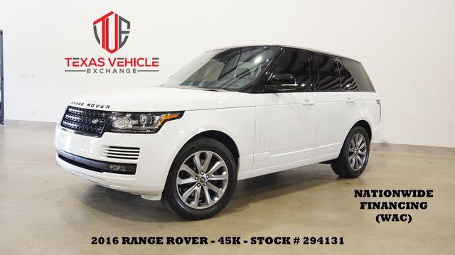 2016 Land Rover Range Rover Diesel PANO ROOF,NAV,360 CAM,HTD LTH,45K
