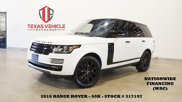 2016 Land Rover Range Rover Diesel PANO ROOF,NAV,360 CAM,HTD LTH,60K